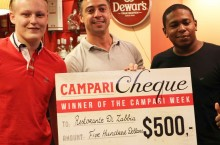 Restorante Di Zabbia awarded winner of Campari Week