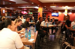 Inter-Continental University of the Caribbean's Tasting Session