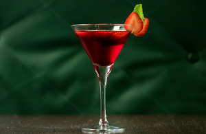 The perfect easy cocktail for Valentine's Day