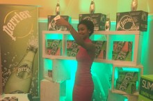 Perrier promotion at Miss Curacao Teenager