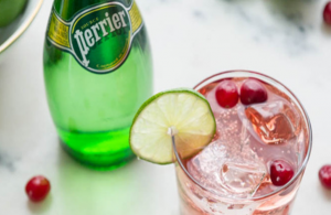 Perrier Pomegranate – 3 simple ingredients!