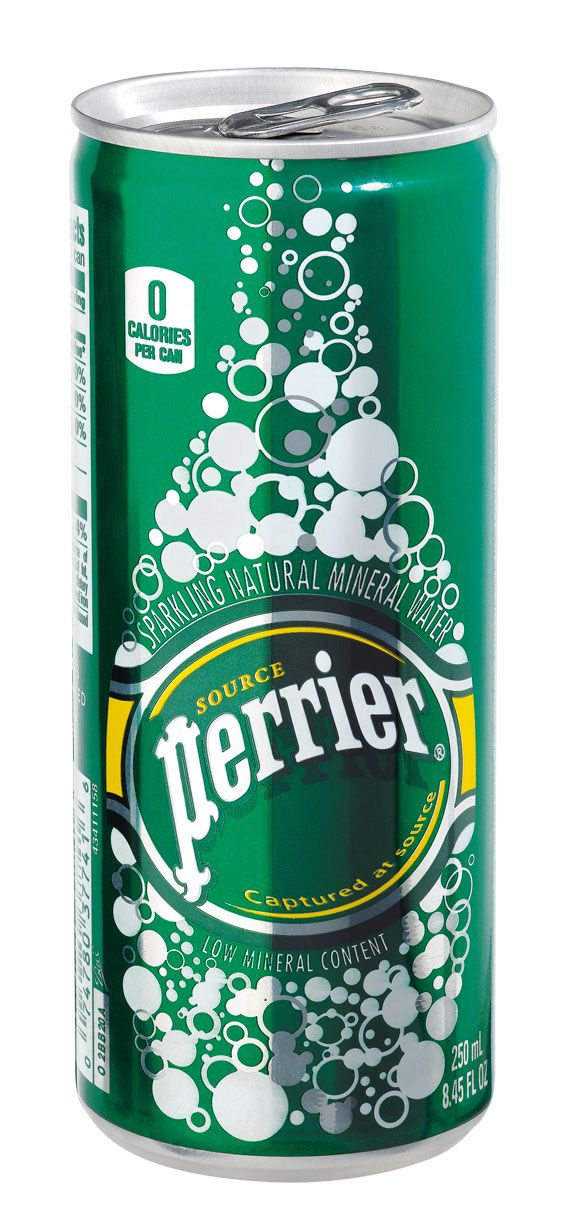 Perrier Nature Slim can (35-pack)