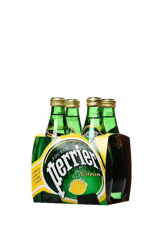 Perrier Lemon Glass (4-pack)