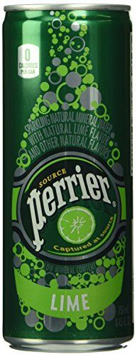 Perrier Lime Slim Can (30-pack)