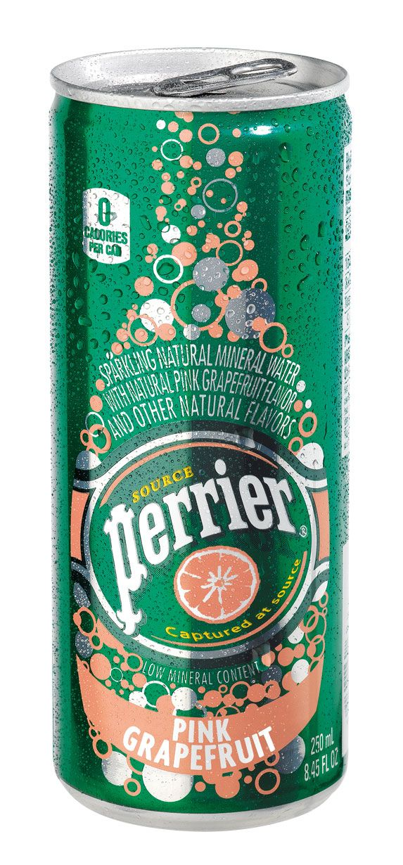 Perrier Pink Grapefruit Slim Can (30-pack)